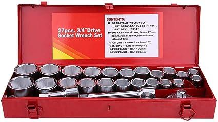 Set Composto da 13 Chiavi a Bussola di Misure Diverse Laser 3814 Attacco da 3//4