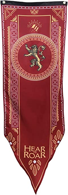 Lannister 18 X 60 Targaryen House 3 Pack ForPeak Game of Thrones House Banner Stark