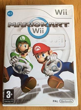 Nintendo Wii - Mario Kart: Amazon.es: Videojuegos