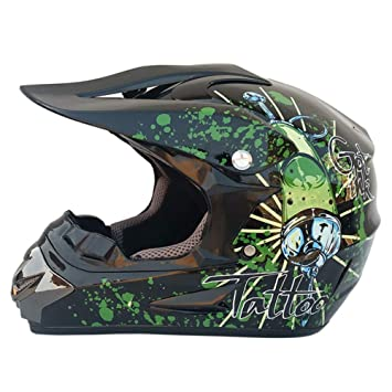 Souy Unisex Motorcycle Off Road Helmet Mountain Bike Full Face