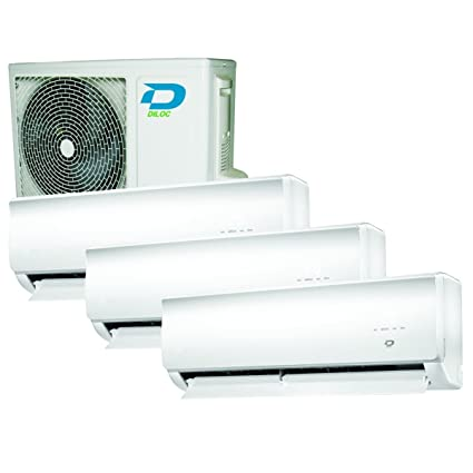 Trio Split de aire acondicionado climática dispositivo 9 + 12 + 12 DILOC DC Inverter Sharp