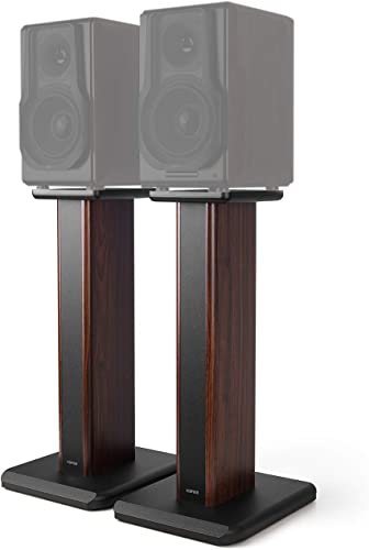 Edifier Speaker Stands for S3000PRO Hollowed Stands for Optional Sand Filling Tuning- Wood Grain Easy Assembly Enhanced Listening