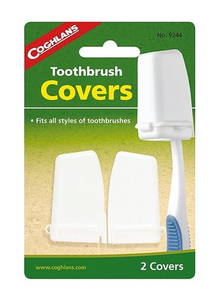 coghlan S – Funda de cabeza de cepillo de dientes color blanco