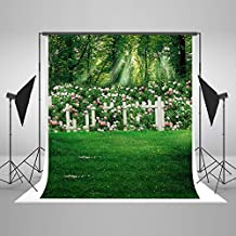 Kate 5x7ft Spring Photography Backdrops Grass Easter Garden Photo Background Flowers Backdrop for Pictures