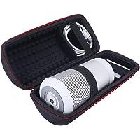 Travel Carrying Protective Carry Cover Case Bag for Bose Soundlink Revolve Bluetooth Speaker (Black)