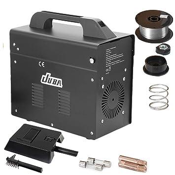 Hehilark Ampere MIG-130 - Soldador eléctrico (220-240 V), Negro, 230.00V: Amazon.es: Bricolaje y herramientas