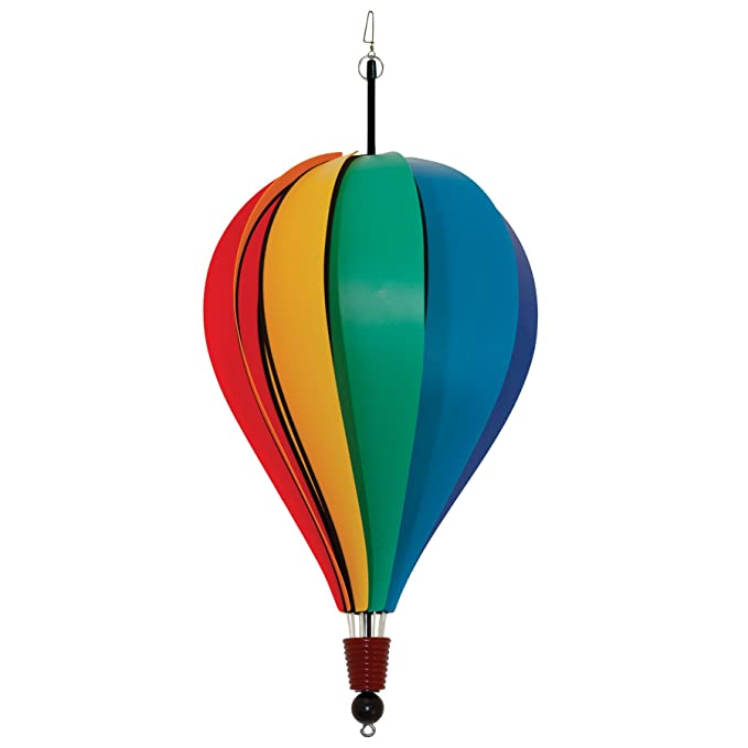 In the Breeze Rainbow Poly 10-Panel Hot Air Balloon