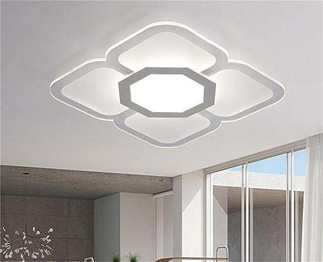 Plafoniere Per Cucina Moderna : Plafoniere decorative slim vita moderna rettangolare camera da