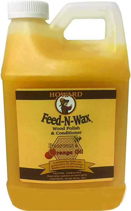 Howard feed-n-wax Restaurativa madera polaca y ...