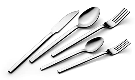 Amazon.com: bruntmor, Oxley Silverware Royal 20 Piece ...