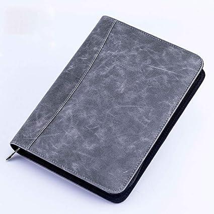 LIUCHEN@ CuadernoA5 Notebook Maletín Carpeta de archivos de ...