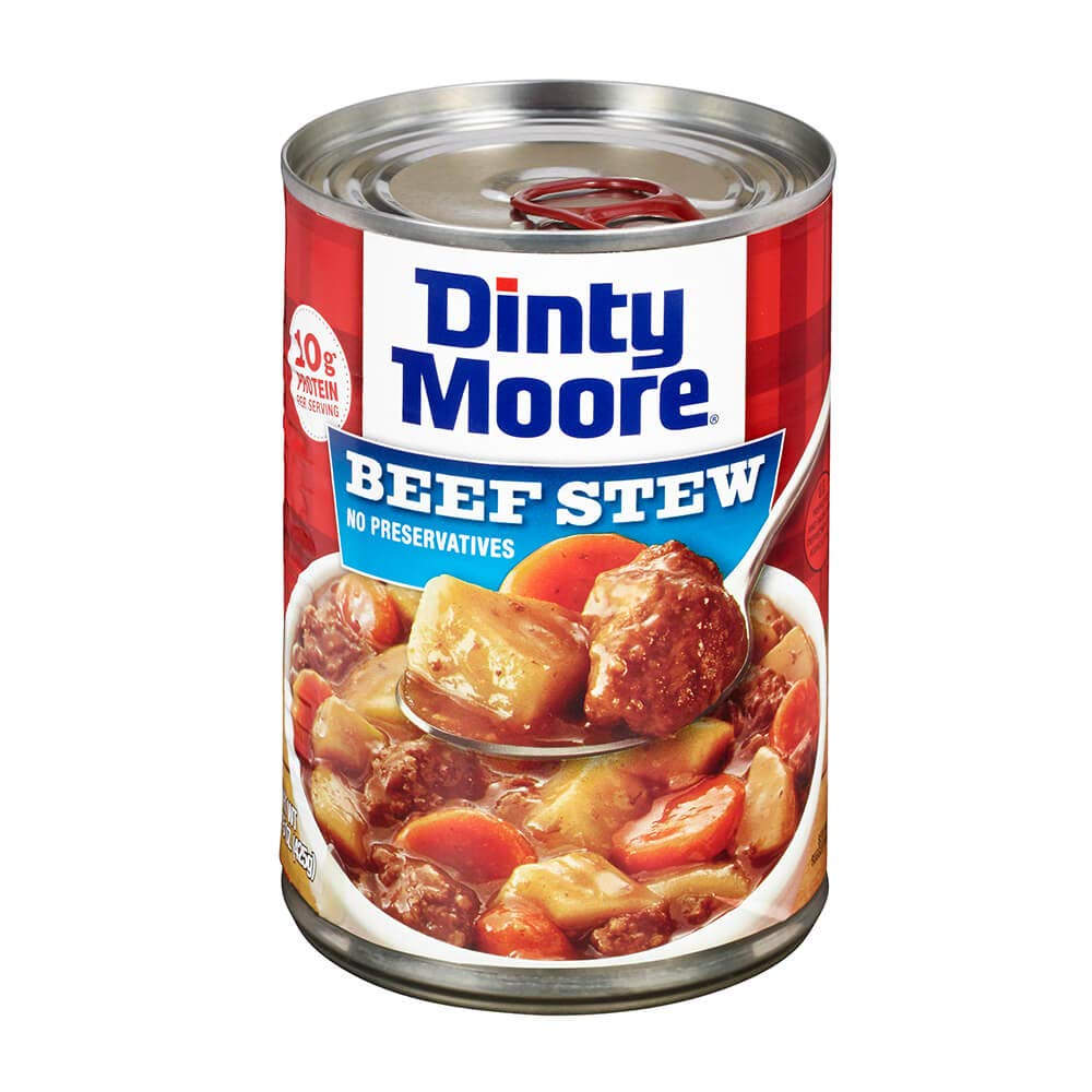 Dinty Moore Beef Stew, Hearty Meals, 15-Ounce Cans (Pack of 12)