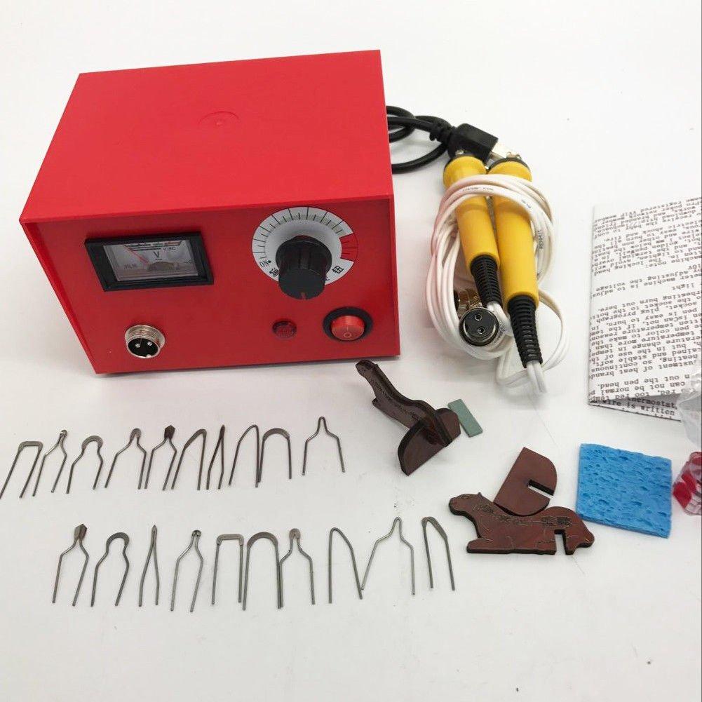 Tip Set Hobby Craft Tool iMeshbean 50W Multifunction Pyrography Machine Wood Burning Pen