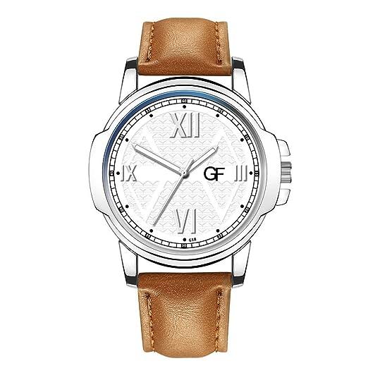POJIETT Relojes Hombre Mujer Marca Correa de Cuero Reloj de Pulsera de Moda de Cuarzo Puntero Luminoso Relojes Deportivos Analogicos Reloj Quartz Wrist ...