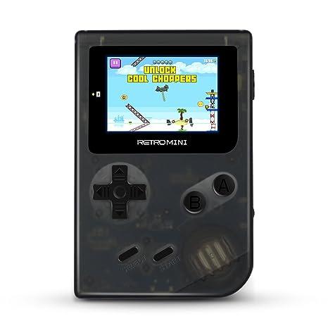 Consola portátil Ital Retro Mini + Micro SD 16Gb (151 juegos ...