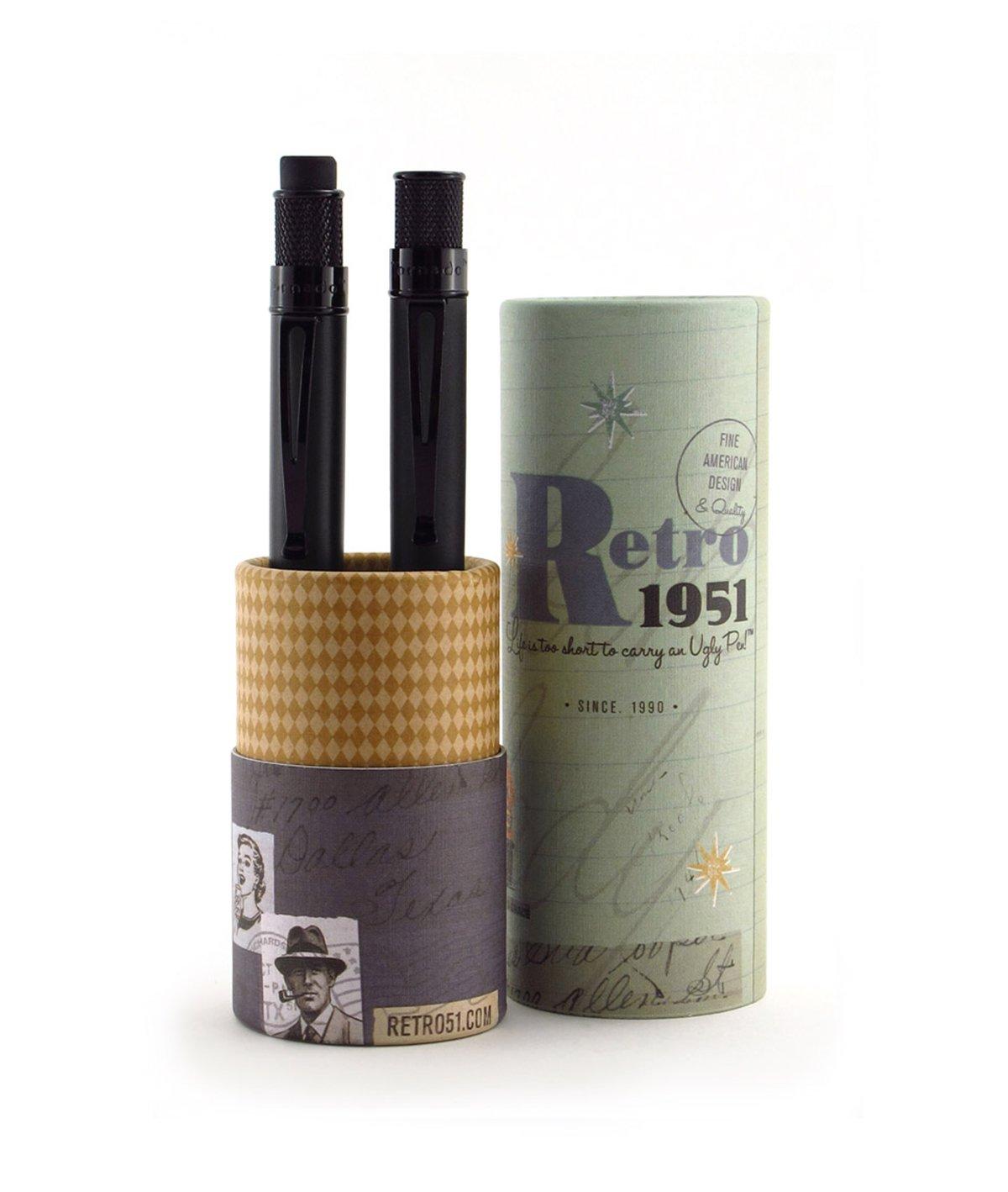 Tornado Pen & Pencil Set Stealth by Retro 51