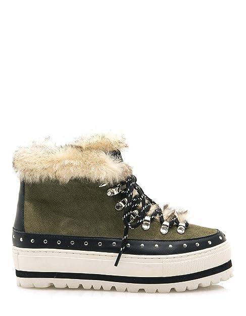 e4d875bd996 Botas Pelo Kaki de SixtySeven  Amazon.es  Zapatos y complementos