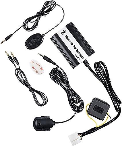 Amazon Com Bluetooth Music Car Adapter Interface Compatible With Honda Accord Civic Crv Acura Csx Rdx Car Electronics