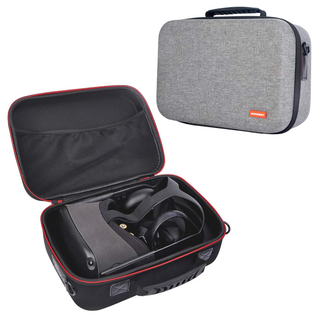 FNSHIP Fashion Hard Travel Case Carrying Bag for Oculus Quest VR Gaming Headset And Quest Controllers Accessories by FNSHIP