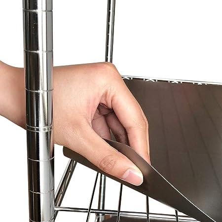 BRIAN & DANY 14 pulgadas x 36 pulgadas forro de estante de alambre ...