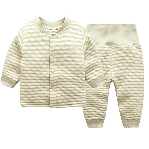 bdd3bfc8cae1 Amazon.com  ThreeH Baby Long Sleeve Tops and Pants Spring and Autumn ...