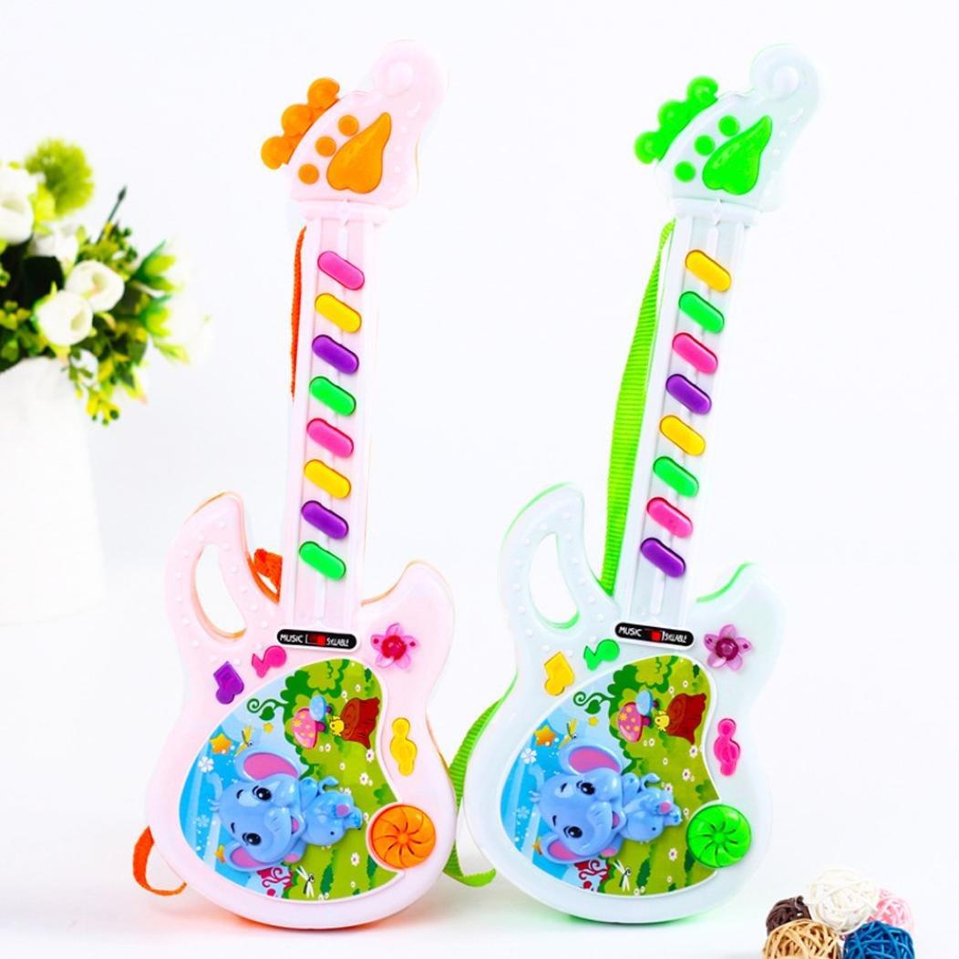 Internet Juguetes educativos Juguete de Guitarra eléctrica Musical Juega para Kid Boy Girl Niñito Juguete electrónico de Aprendizaje (Aleatorio): Amazon.es: ...