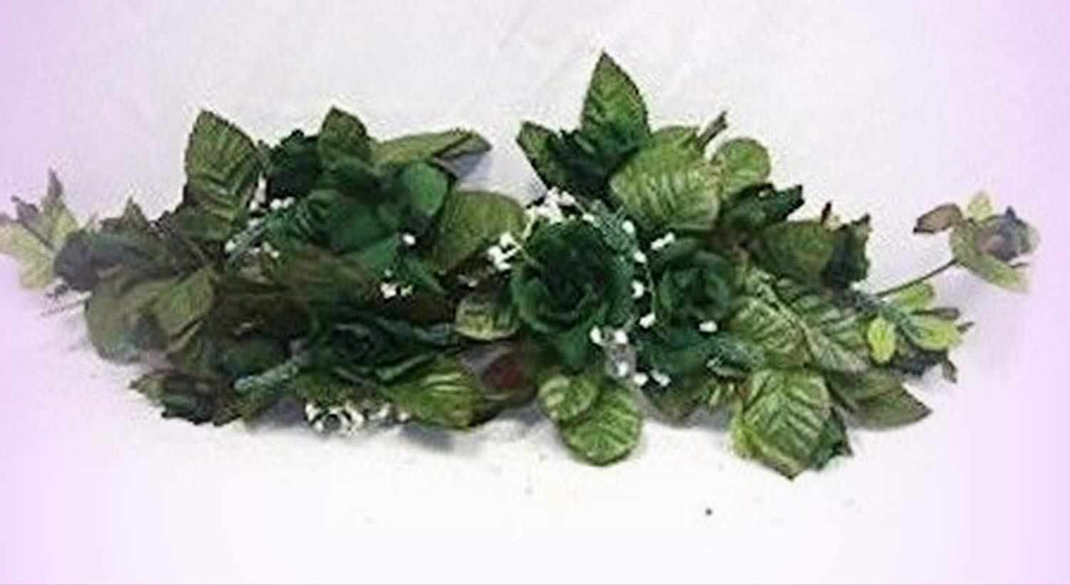 Inna-Wholesale-Art-Crafts-New-Hunter-Green-Swag-Silk-Roses-Centerpiece-Decorating-Flowers-Arch-Gazebo-Pew-Decor-Perfect-for-Any-Wedding-Special-Occasion-or-Home-Office-Dcor