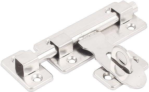 Aexit 4 Longitud de la puerta Puerta corredera Cierre de seguridad Barril (model: V9347IXII-6672WA) Perno Tono plateado: Amazon.es: Bricolaje y herramientas