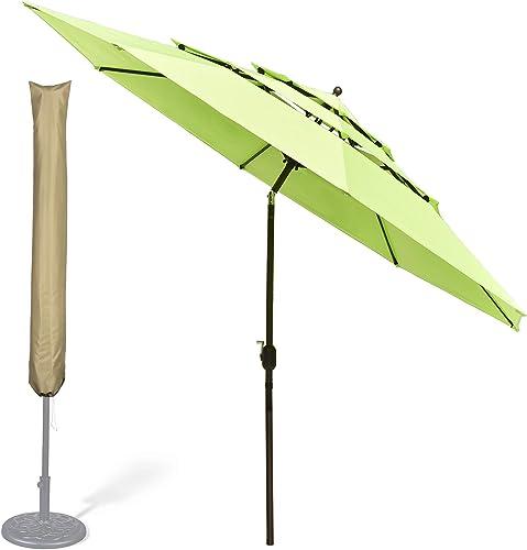 Yescom 11 Ft 3 Tier Patio Umbrella