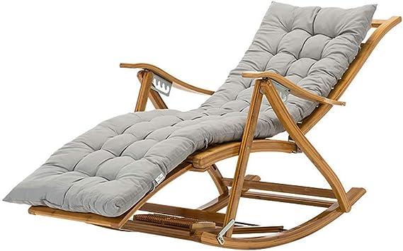 TYXTYX Cojín de Silla Larga para sillón de Relax, Tumbona de ...