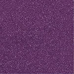 "10 Pcs 300gsm Sparkling Glitter Cardstock Scrapbooking Craft Paper for Christmas DIY Decoration, Wedding, Birthday, Monograms 12"" x 12"" (Grape)"