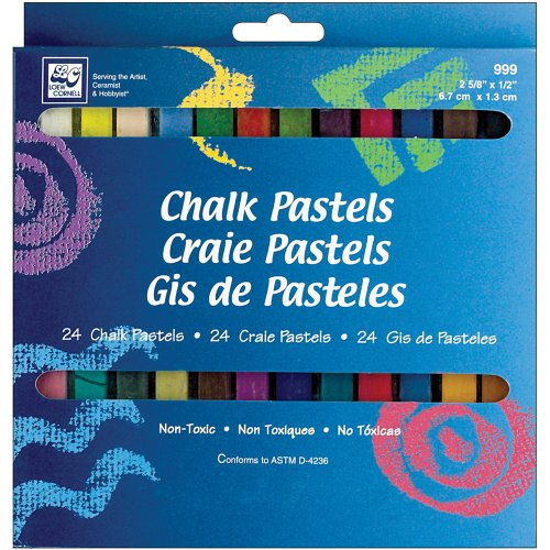 *Loew-Cornell Chalk Pastels, 24-Count