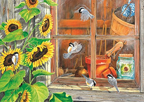 Potting Shed 15 LARGE Piece Jigsaw Puzzle by SunsOut
