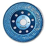 Spike 5'' Diamond Cup Removing Disc Wheel with RCD Newest Technology & Rubber Cushioned Body (Spike, 5'', 7.1 oz Very Light)