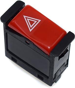 Interruptor de luz de emergencia de advertencia 0008209010 para 350SD 190E 190D 380SL 350SDL 500SEC 380SEC 500SEL