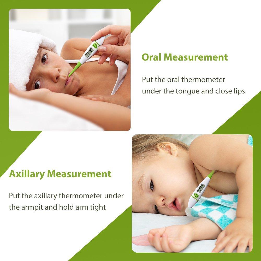 Amazon Habor Medical Thermometer Fda 10 Seconds Fever Alarm