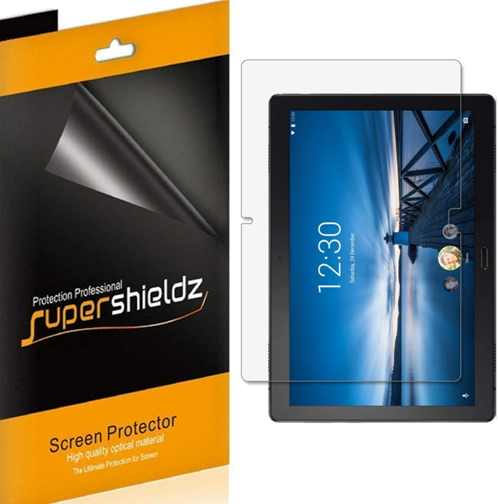 Supershieldz (3 Pack) for Lenovo Smart Tab P10 10.1 Inch Screen Protector, Anti Glare and Anti Fingerprint (Matte) Shield