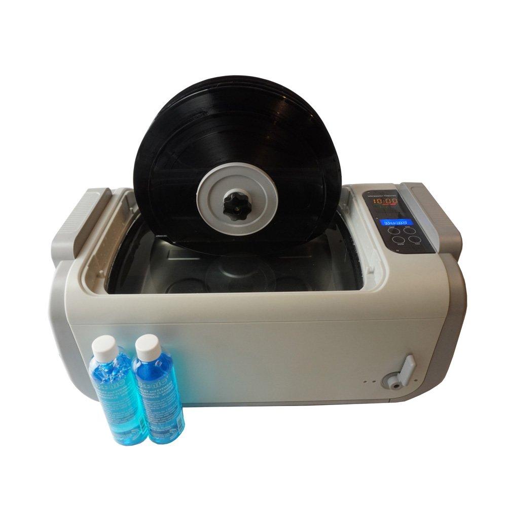 iSonic P4875II-4T+MVR Motorized Ultrasonic Vinyl Record Cleaner, 2 gal/7.5 L, 110V