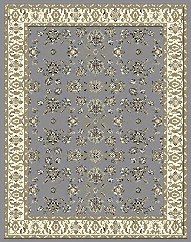 Entryway Traditional (Traditional Area Rugs Gray 4x6 Rugs for Entryway Foyer Rugs Clearance)