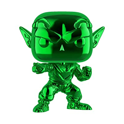 Funko Pop! Green Chrome Piccolo ECCC Exclusive: Toys & Games