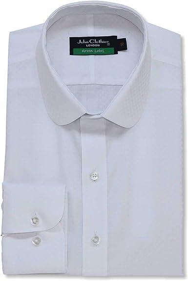 Camisa para hombre, 100% algodón, cuello redondo, cuello ...