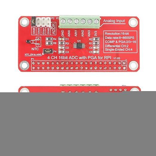 16 bits ADS1115 ADC Convertisseur analogique-num/érique ADC pour Raspberry Pi 3//2//B+