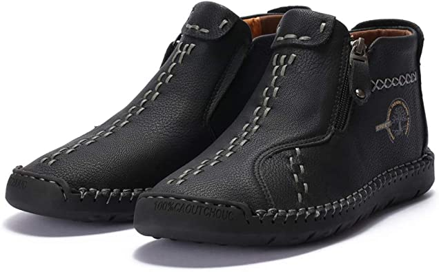 Dacomfy Mens Chukka Boots Casual Shoes
