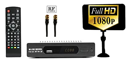 amazon com digital converter box rf cable antenna for recording rh amazon com digital converter box channel lineup Bounce TV Converter Box