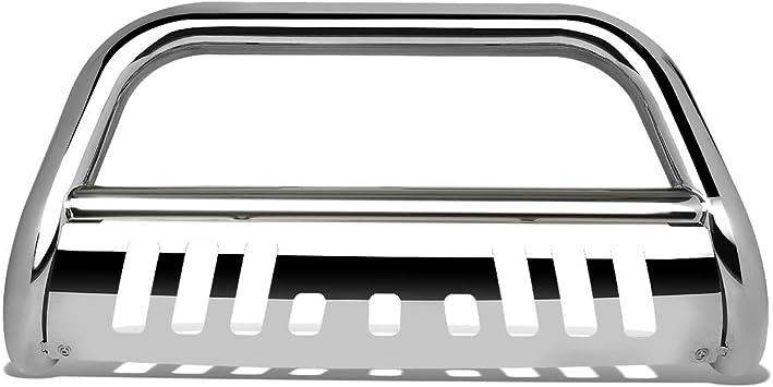DNA Motoring BURB-010-SS BURB010SS 3 Front Bumper Push Bull Bar