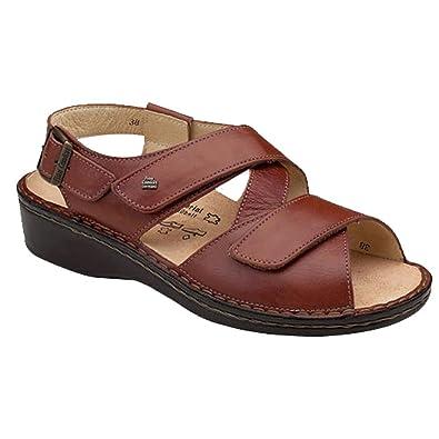 Finn Comfort Soft Jersey Womens Sandals, Brandy Country, Size - 39