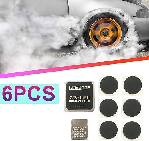 gouxia74534 - Kit de Parches para neumáticos de Bicicleta (6 ...
