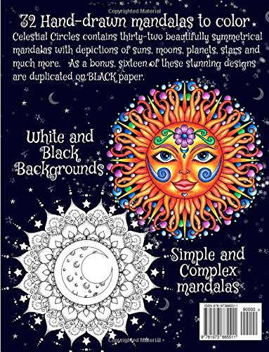 Amazon Com Celestial Circles Sun Moon Stars And Planets