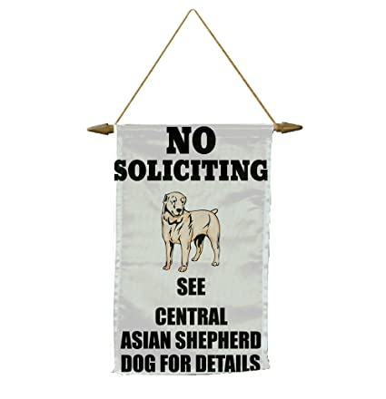 7fff26c0d29 Amazon.com   No Soliciting See CENTRAL ASIAN SHEPHERD DOG For ...