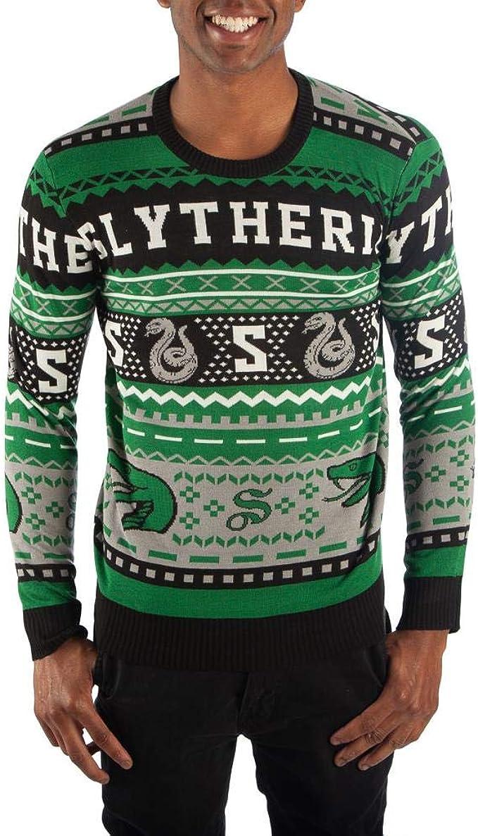 Bioworld Slytherin Sweater Harry Potter Sweater Slytherin Apparel Hogwarts Sweater